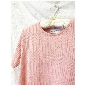 +VTG Soft Baby- Pink Sweater Tee+